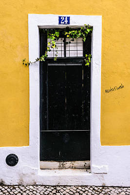 Old Door Photograph - Door No 24 by Marco Oliveira