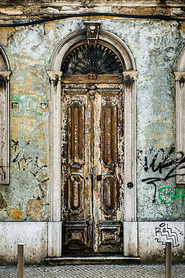 Old Door Photograph - Door No 35 by Marco Oliveira