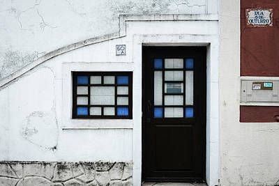 Photograph - Door No 50a by Marco Oliveira