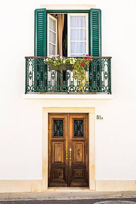 Old Door Photograph - Door No 51a by Marco Oliveira