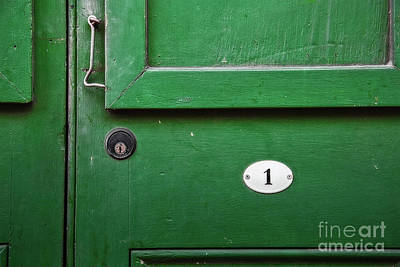 Photograph - Door Number 1 by Jarrod Erbe