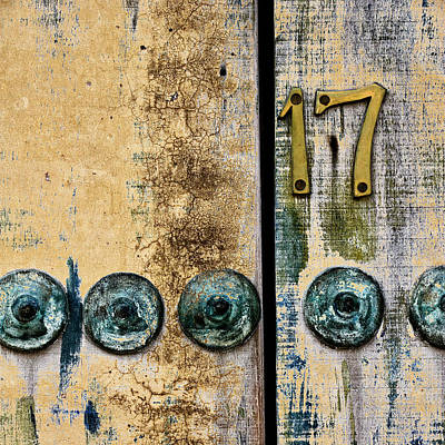 Photograph - Door Number 17 In Mexico by Carol Leigh