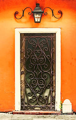 Photograph - Door Of Hearts by Frances Ann Hattier