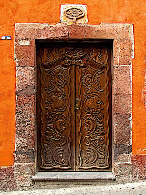 Portal Photograph - Door Of Life by Mexicolors Art Photography