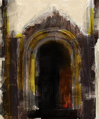 Mixed Media - Door Of Opportunity by Eduardo Tavares