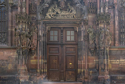 Photograph - Door Of Saint Lawrence by Teresa Mucha