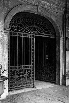 Photograph - Door Of The Cabildo by Crescent City Collective