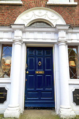 Photograph - Door Reflections In Dublin by John Rizzuto