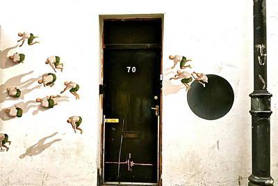 Door Seventy Street Art Art Print