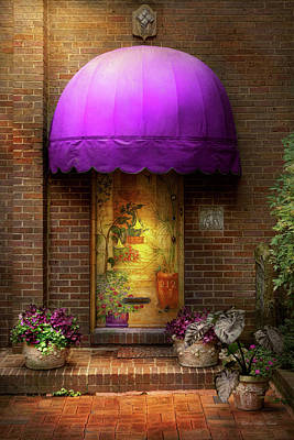 Loy Photograph - Door - The Door To Wonderland by Mike Savad
