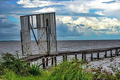 Photograph - Door To Dock by Melissa Lane