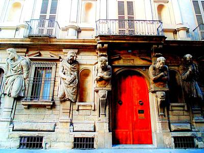 Photograph - Door To Milan by Michelle Dallocchio