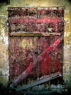 Photograph - Door To My Heart by Karen Lewis