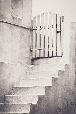Door To Nowhere. Art Print