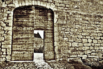 Door To Salvation Art Print by Paul Topp