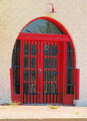 Photograph - Door To Santa Fe Depot by Janette Boyd