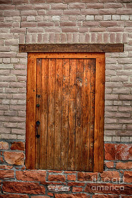 Photograph - Door To Somewhere by David Millenheft
