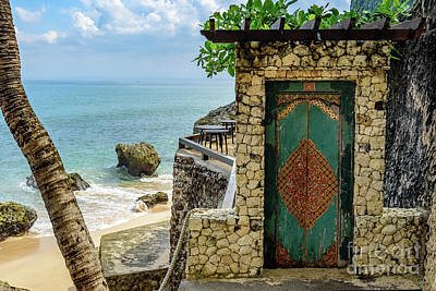 Photograph - Door To The Bali Beach, Jimbaran by Global Light Photography - Nicole Leffer