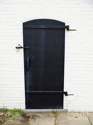 Photograph - Door To The Oil House by D Hackett