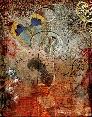 Digital Art - Door To The Past by Linda Carruth