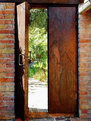 Photograph - Door To The Secret Garden by Dorothy Berry-Lound