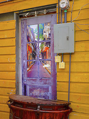 Photograph - Door Window Art by Herb Paynter