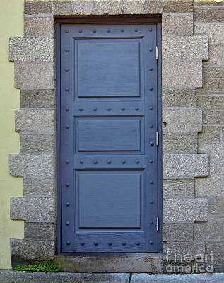 Photograph - Door With No Handle by D Hackett