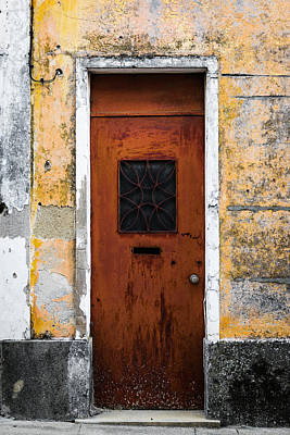Photograph - Door With No Number by Marco Oliveira