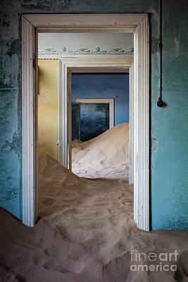 Delapidated Photograph - Door Within A Door Within A Door by Inge Johnsson