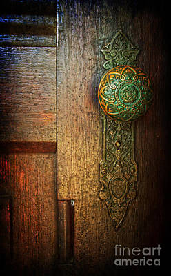 Photograph - Doorknob by Debra Fedchin