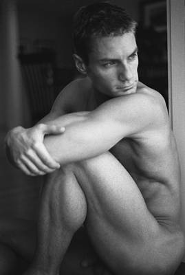 Male Physique Photograph - Doorman 2 by Thomas Mitchell