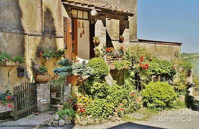 Paradise On Earth Photograph - Little Paradise In Tuscany/italy/europe by Christine Huwer