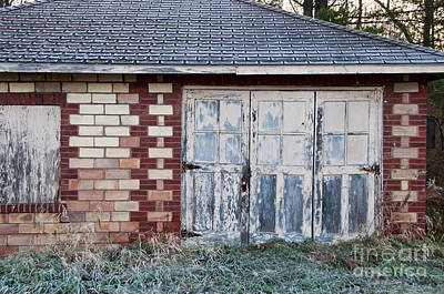 Photograph - Doors And Frost by David Arment