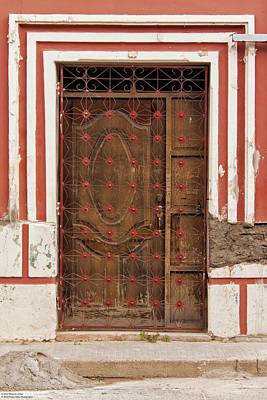 Photograph - Doors And Windows Of Comayagya - 5 by Hany J