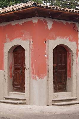 Photograph - Doors And Windows Of Comayagya - 8 by Hany J