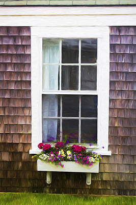 Photograph - White Window - Doors And Windows Series 03 by Carlos Diaz