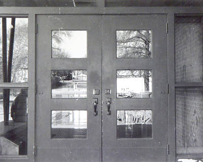 Woodrow Painting - Doors At Woodrow Wilson by Troy Thomas
