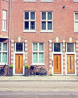 Photograph - Doors In Amsterdam by Melanie Alexandra Price