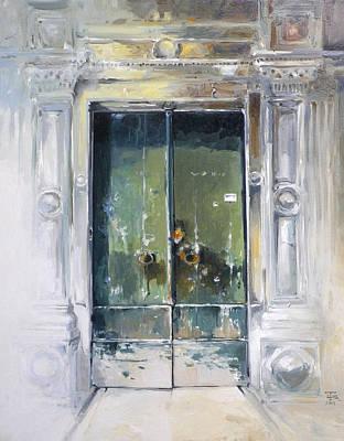 Doors In Genoa Original by Tony Belobrajdic