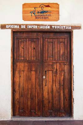 Photograph - Doors In Ojojona - 1 by Hany J