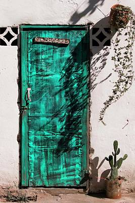 Photograph - Doors In Ojojona - 3 - Close-up by Hany J