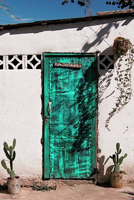 Photograph - Doors In Ojojona - 3 by Hany J