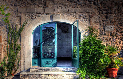 Doors In Provence Art Print by Tom Prendergast