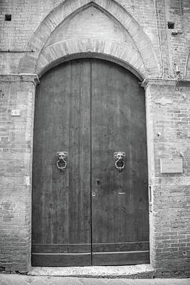 Photograph - Doors In Siena Italy  by John McGraw