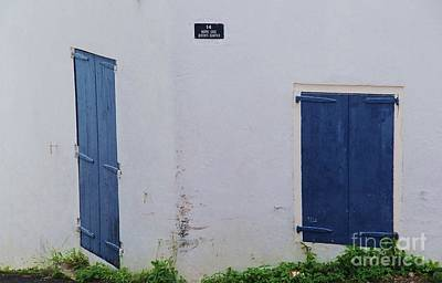 Charlotte Framed Photograph - Doors In St. Thomas # 2 by Marcus Dagan