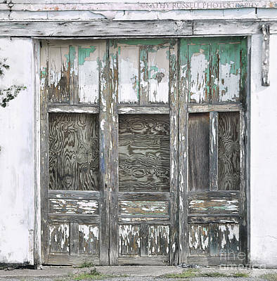 Photograph - Doors by Kathy Russell