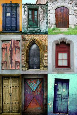 Work Of Art Digital Art - Doors  by Mark Ashkenazi