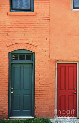 Photograph - Doors by Melissa  Mim Rieman