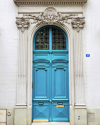 Photograph - Doors No. 4 - Paris, France by Melanie Alexandra Price