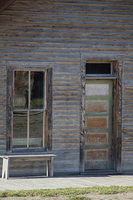 Photograph - Doors Of Bannack 1 by Teresa Wilson
